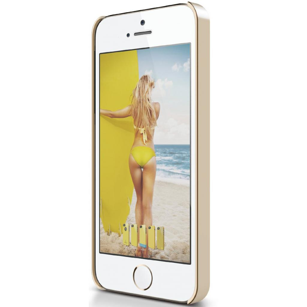 Чехол для моб. телефона ELAGO для iPhone 5C /Outfit MATRIX Aluminum/Gold (ES5COFMX-GDGD-RT) изображение 7