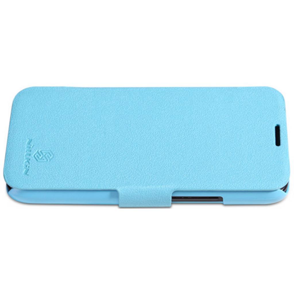 Чехол для моб. телефона NILLKIN для Lenovo A820 /Fresh/ Leather/Blue (6100768) изображение 3