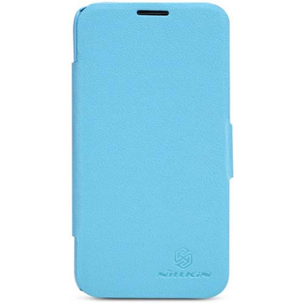 Чехол для моб. телефона NILLKIN для Lenovo A820 /Fresh/ Leather/Blue (6100768)