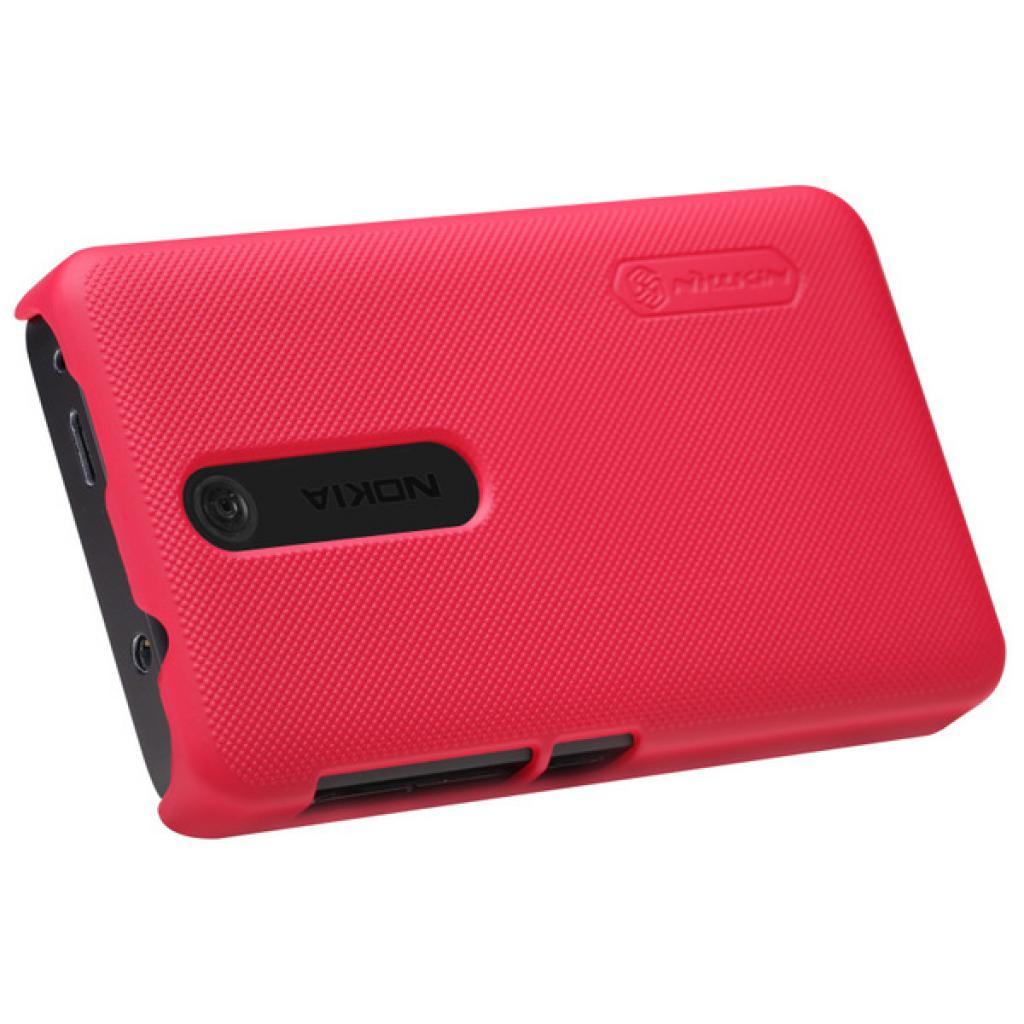 Чехол для моб. телефона NILLKIN для Nokia 501 /Super Frosted Shield/Red (6077016) изображение 4