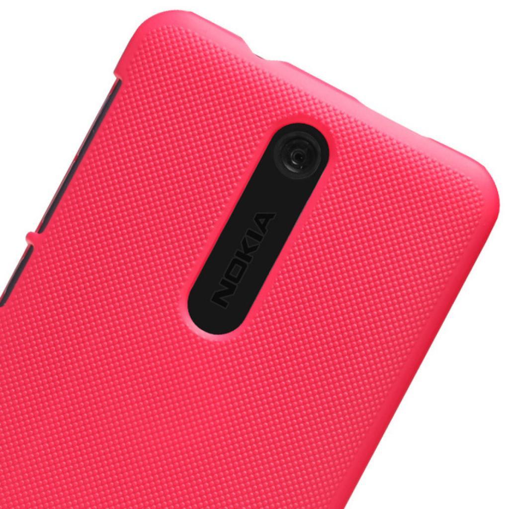 Чехол для моб. телефона NILLKIN для Nokia 501 /Super Frosted Shield/Red (6077016) изображение 5