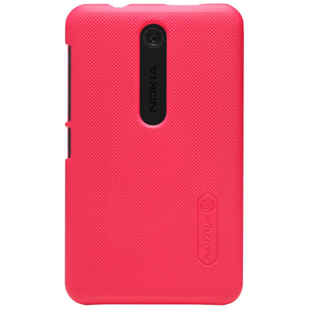 Чехол для моб. телефона NILLKIN для Nokia 501 /Super Frosted Shield/Red (6077016)