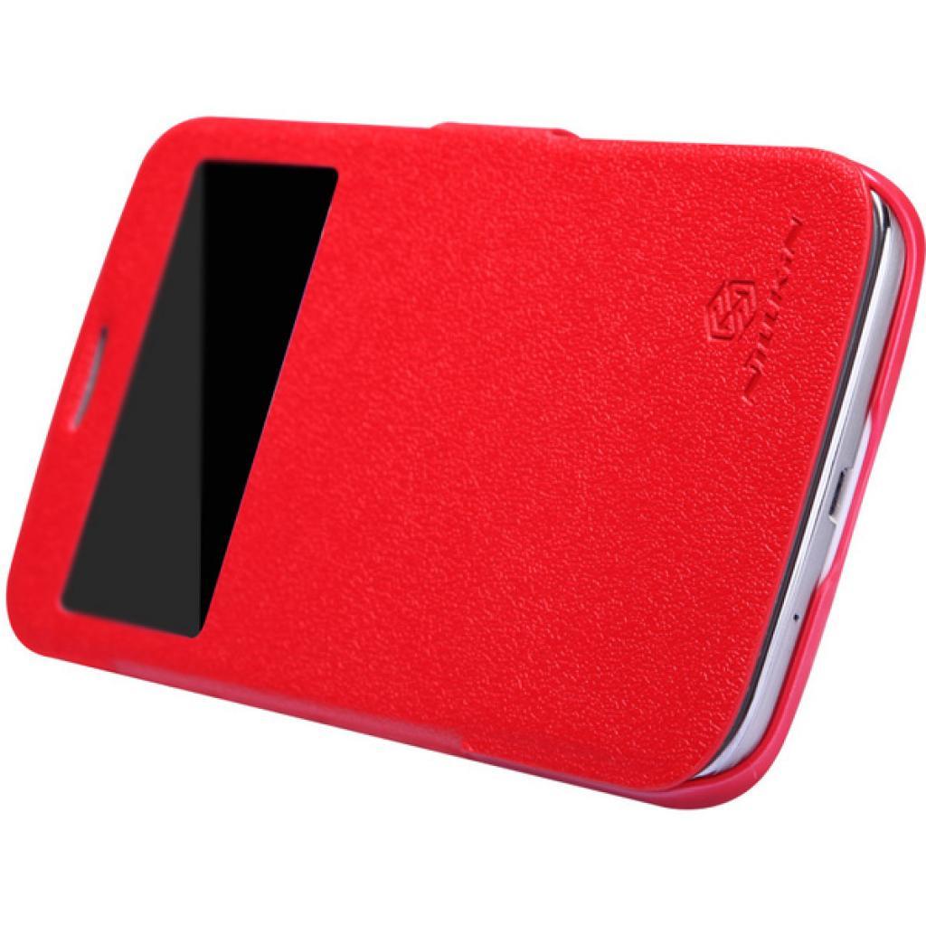 Чехол для моб. телефона NILLKIN для Samsung I9152 /Fresh/ Leather/Red (6076970) изображение 2