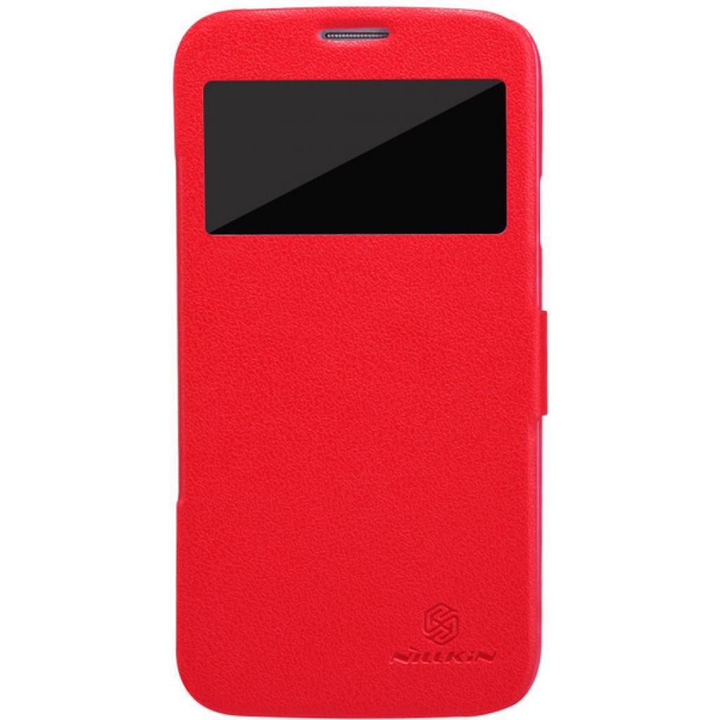 Чехол для моб. телефона NILLKIN для Samsung I9152 /Fresh/ Leather/Red (6076970)