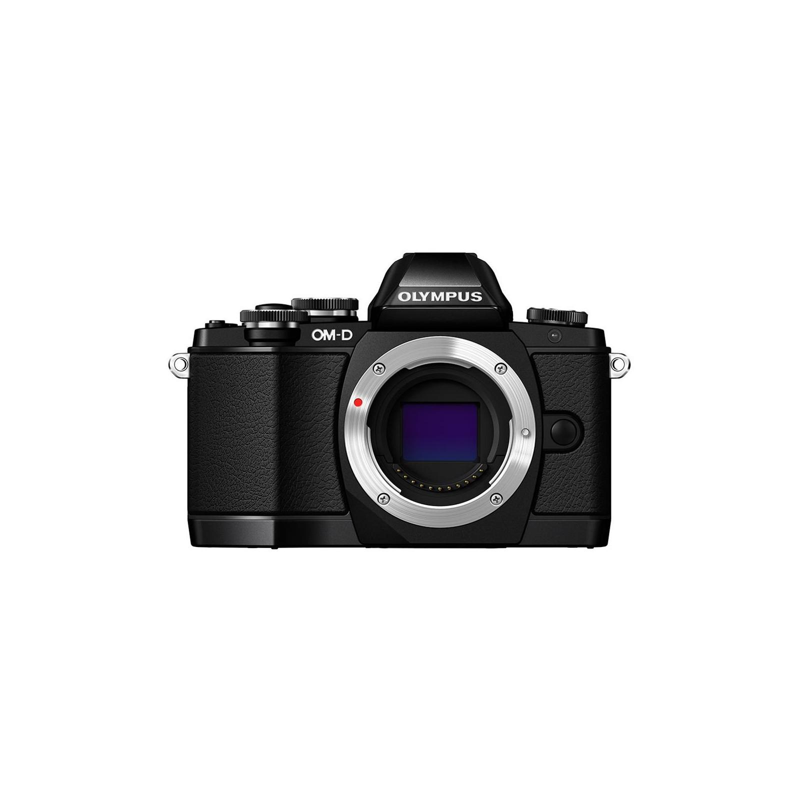 Цифровой фотоаппарат OLYMPUS E-M10 14-42 Kit black/black (V207021BE000) изображение 2