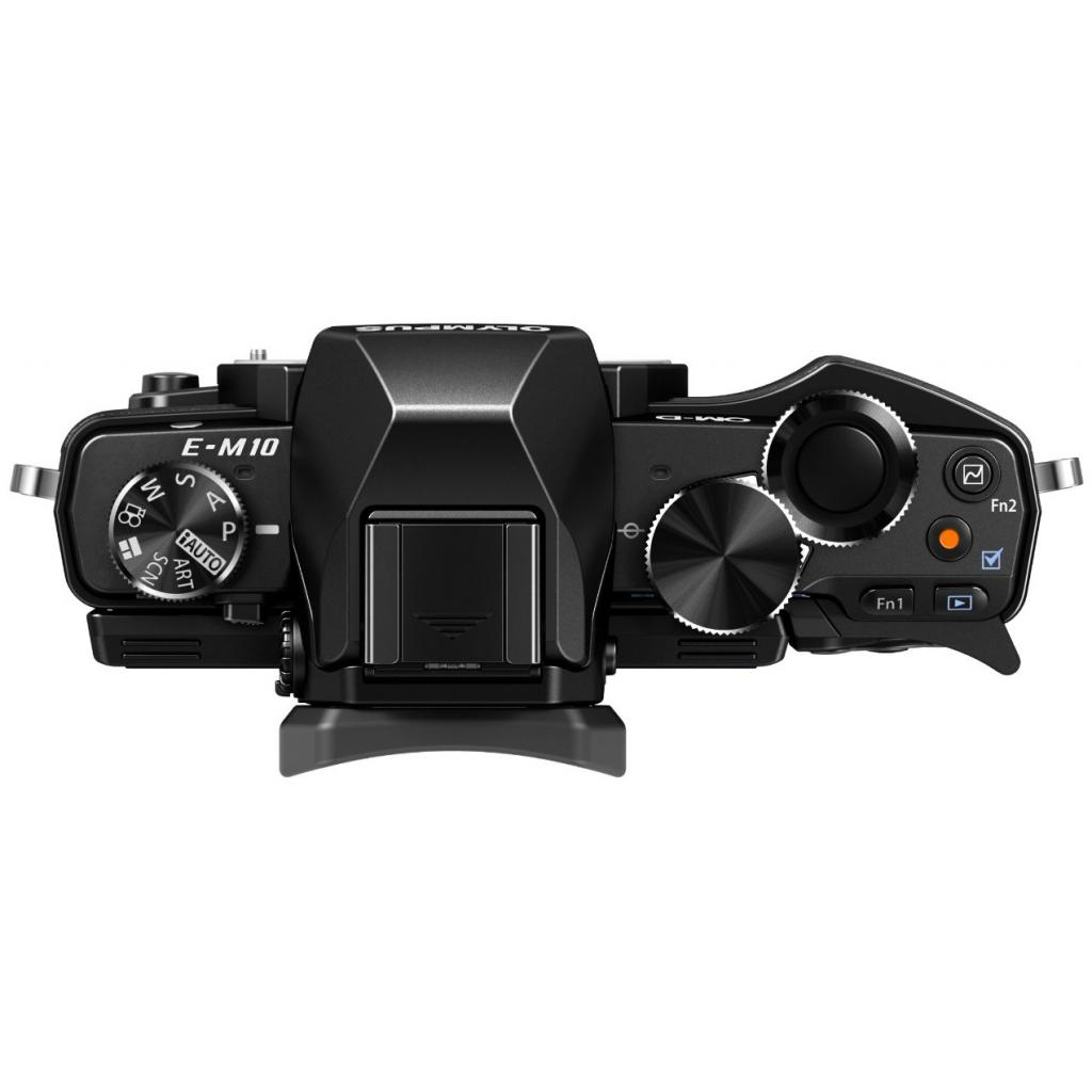 Цифровой фотоаппарат OLYMPUS E-M10 14-42 Kit black/black (V207021BE000) изображение 4