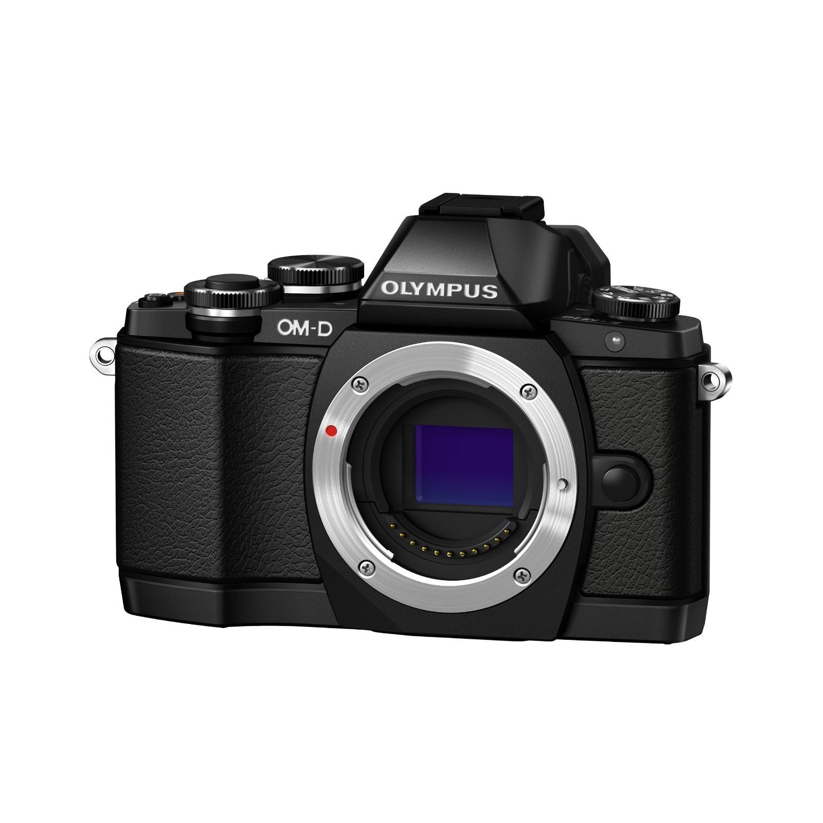 Цифровой фотоаппарат OLYMPUS E-M10 14-42 Kit black/black (V207021BE000)