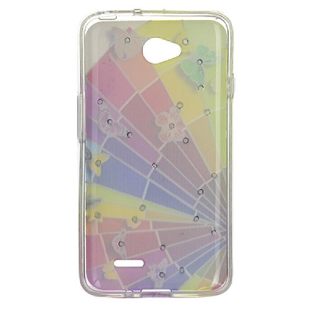 Чехол для моб. телефона для LG L70 Dual (D325) (Rainbow) Cristall PU Drobak (211595) изображение 2