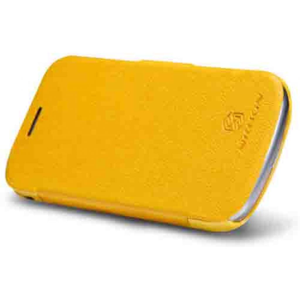 Чехол для моб. телефона NILLKIN для Samsung S7390 /Fresh/ Leather/Yellow (6130565) изображение 2