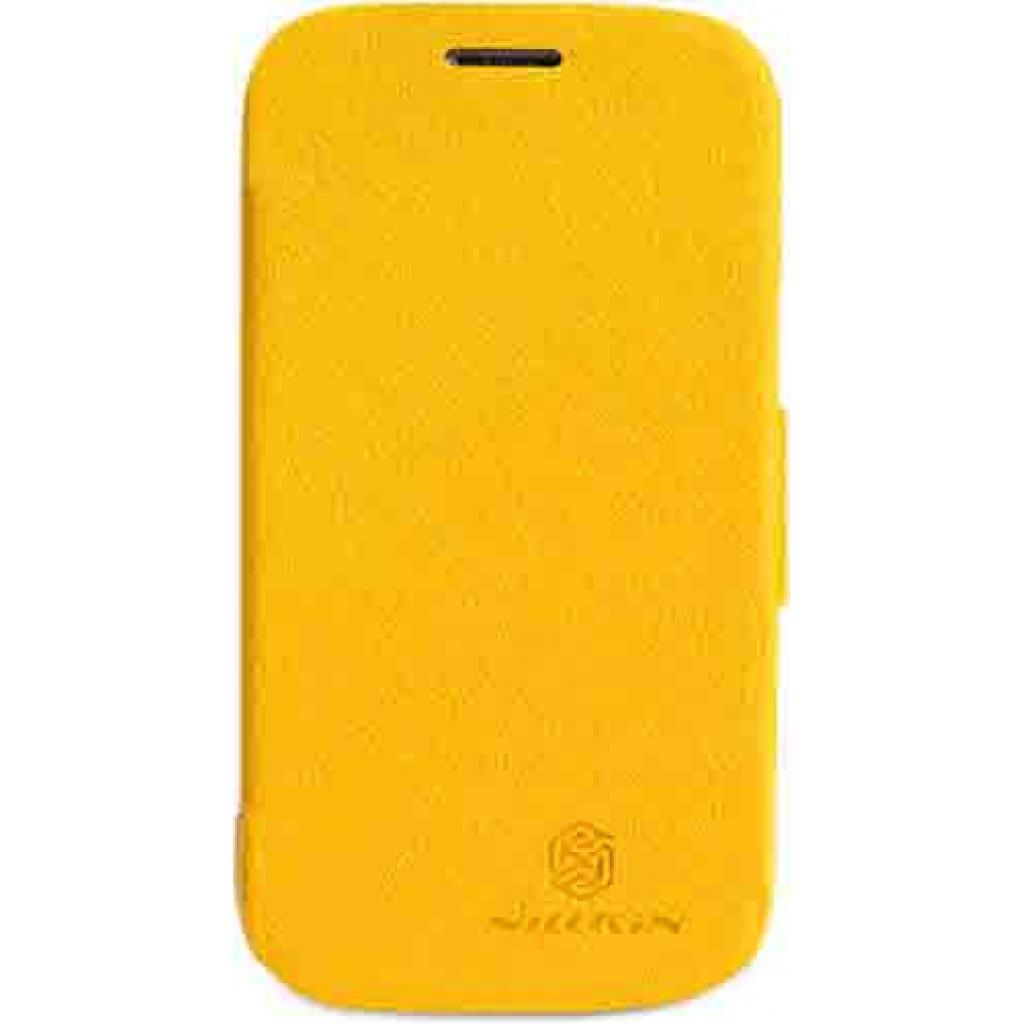 Чехол для моб. телефона NILLKIN для Samsung S7390 /Fresh/ Leather/Yellow (6130565)