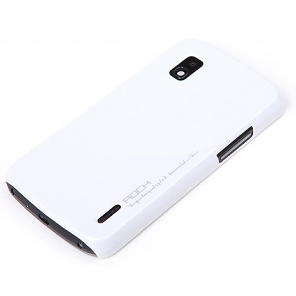 Чехол для моб. телефона Rock LG E960 New naked shell series white (LG Nexus 4/E960-45211)