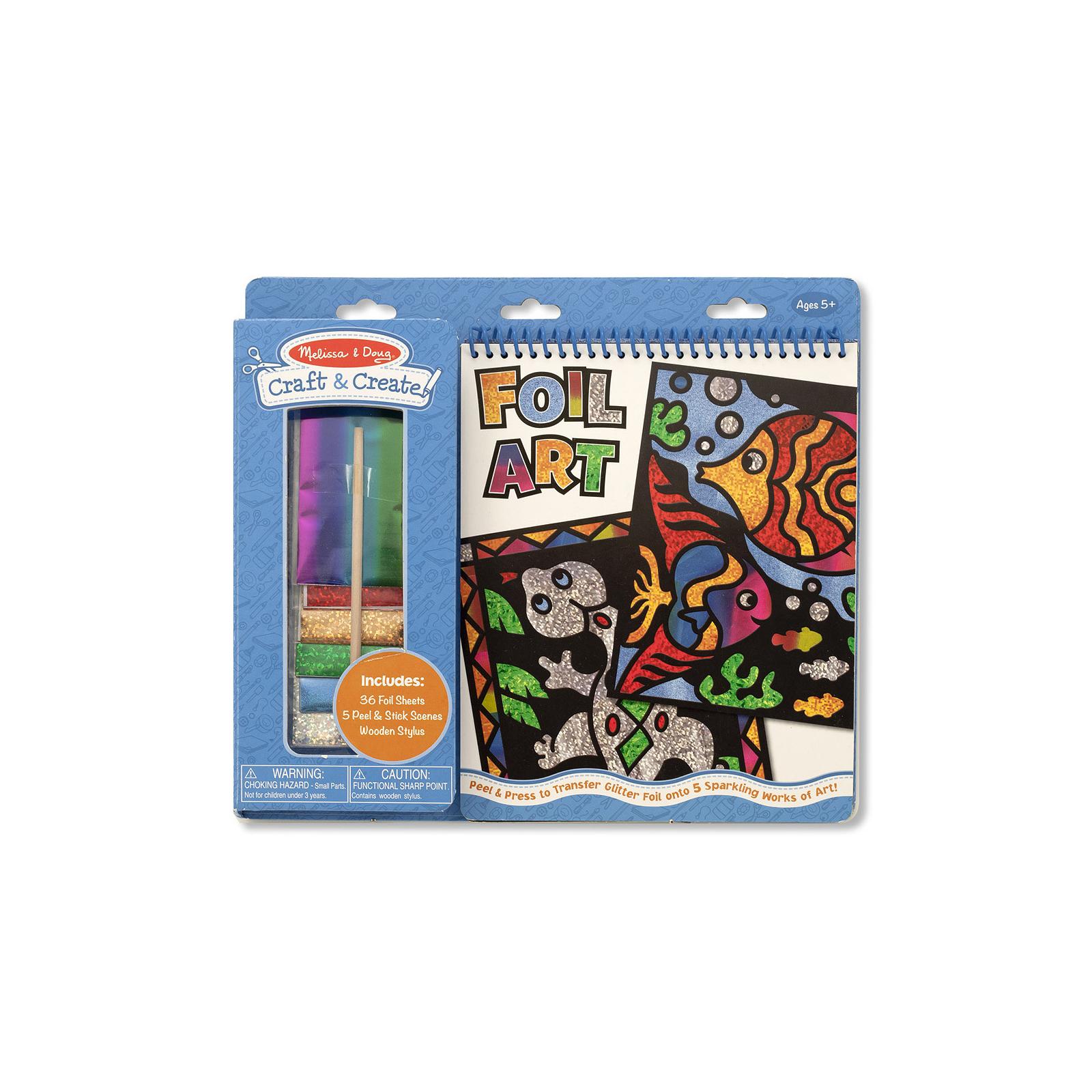Набор для творчества Melissa&Doug Разноцветная гравюра (MD5061)