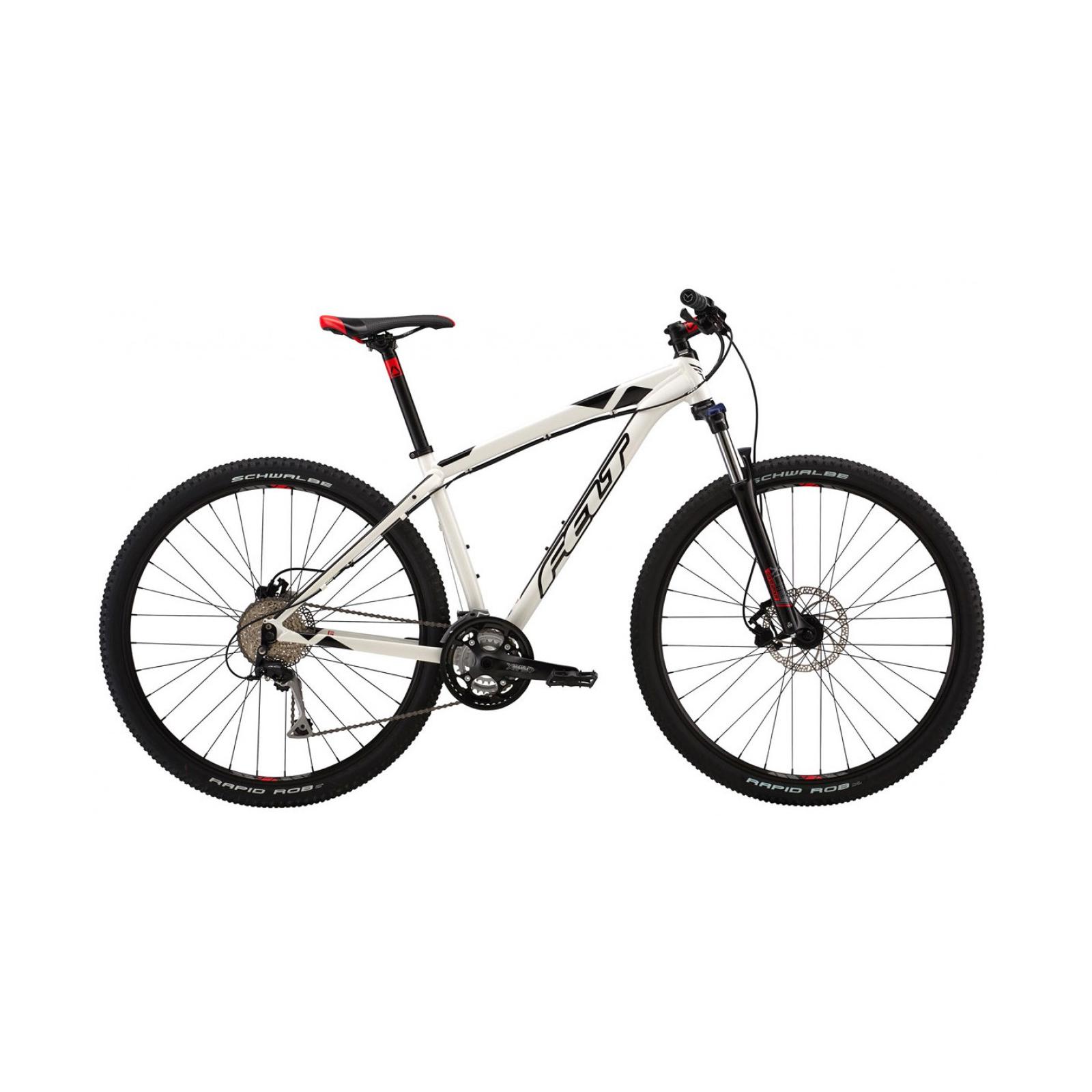 "Велосипед Felt 2016 MTB NINE 70 XL gloss white 22"" 58cm (8064 66902)"