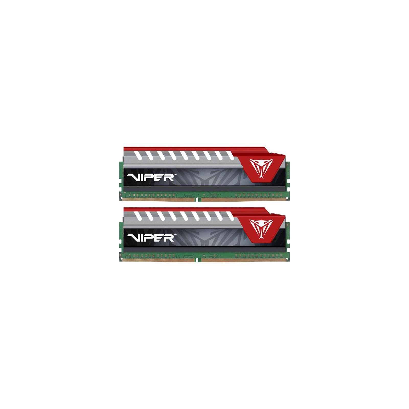 Модуль памяти для компьютера DDR4 32GB (2x16GB) 2400 MHz Original V ELITE KIT BLK/RED Patriot (PVE432G240C5KRD)