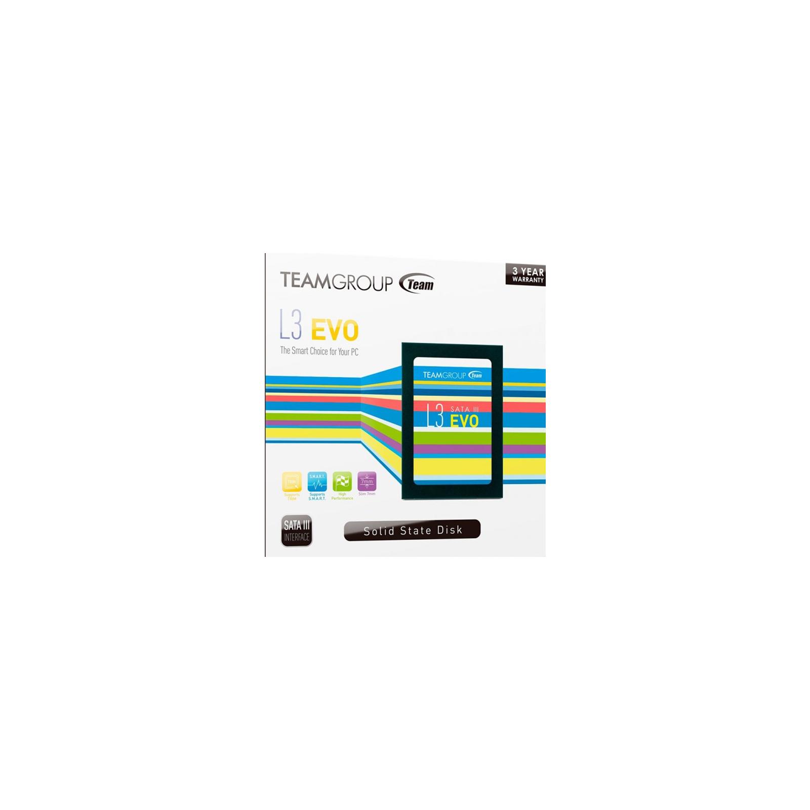 "Накопитель SSD 2.5"" 240GB Team (T253LE240GTC101) изображение 3"