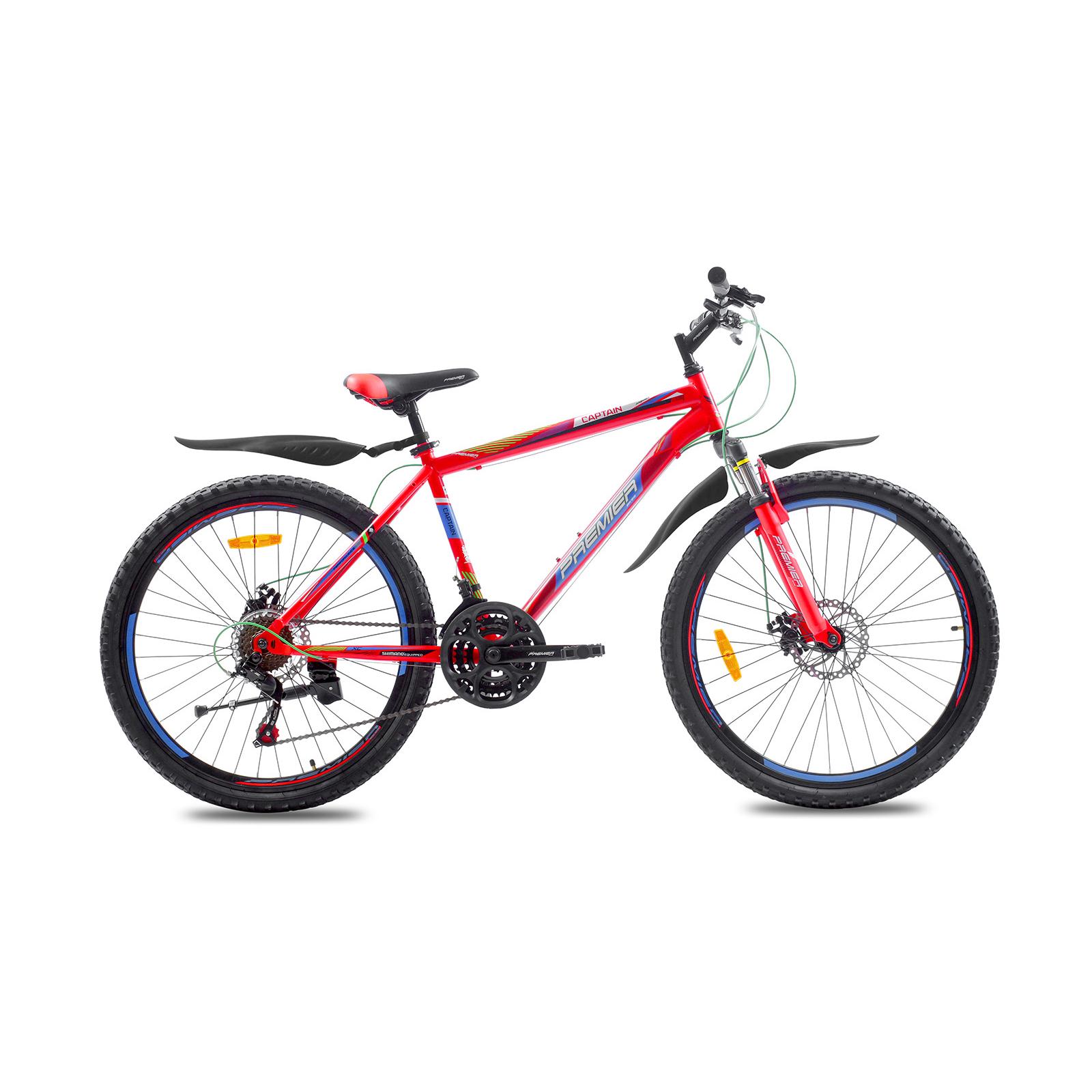 """Велосипед Premier Captain 26 Disc 17"""" matt red (SP0001484)"""
