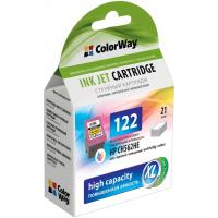 Картридж ColorWay HP №122XL color (CH562HE/CH564HE)ink level (CW-H122XLC-I)