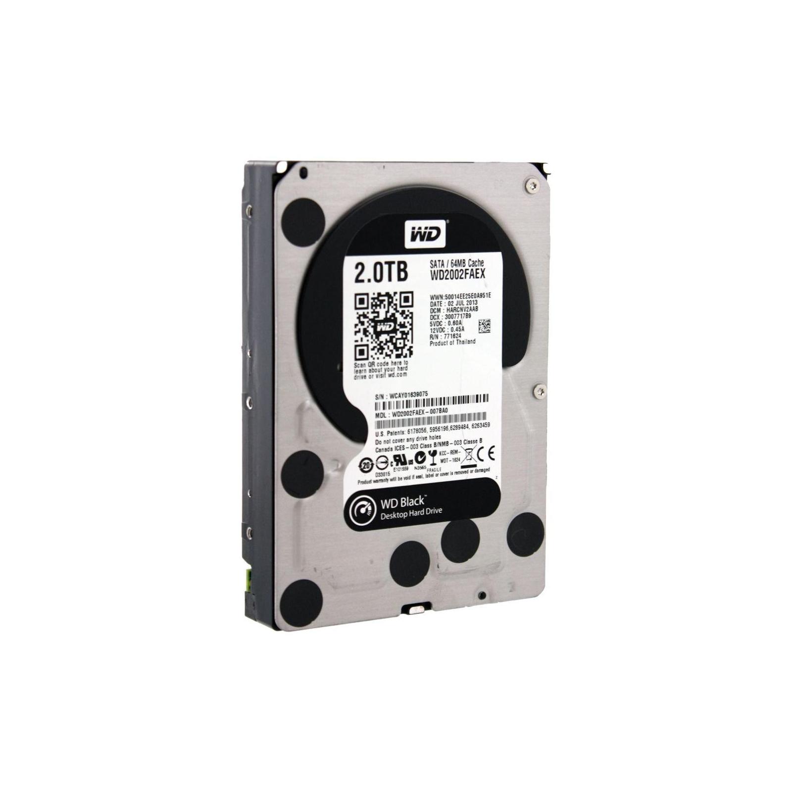 """Жесткий диск 3.5"""" 2TB WD (#WD2002FAEX-FR#) изображение 2"""