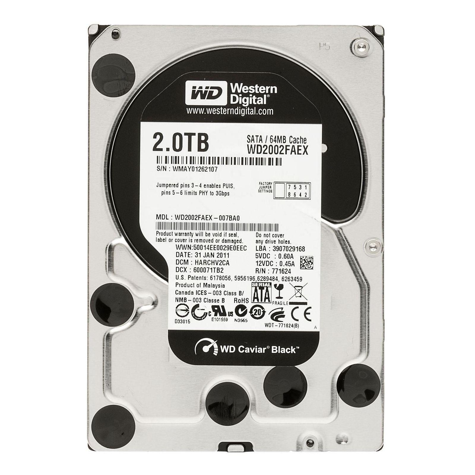 "Жесткий диск 3.5"" 2TB WD (#WD2002FAEX-FR#)"