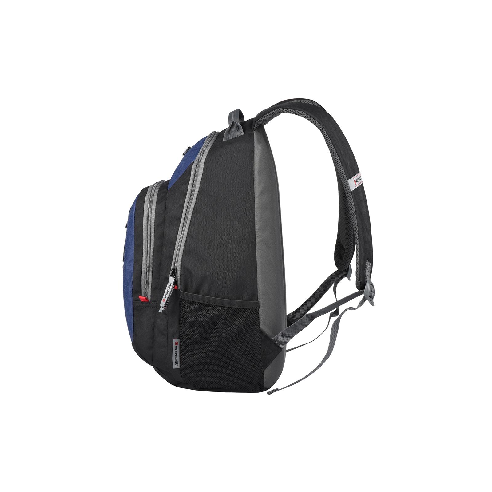 """Рюкзак для ноутбука Wenger 16"""" Mars Black/Blue (604428) изображение 3"""