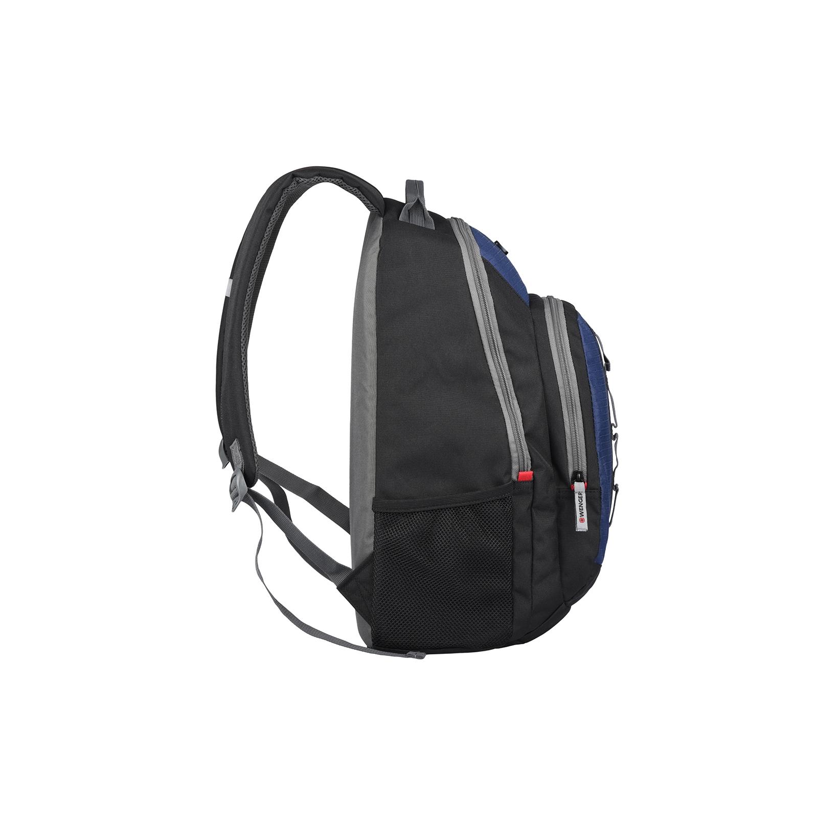 """Рюкзак для ноутбука Wenger 16"""" Mars Black/Blue (604428) изображение 4"""