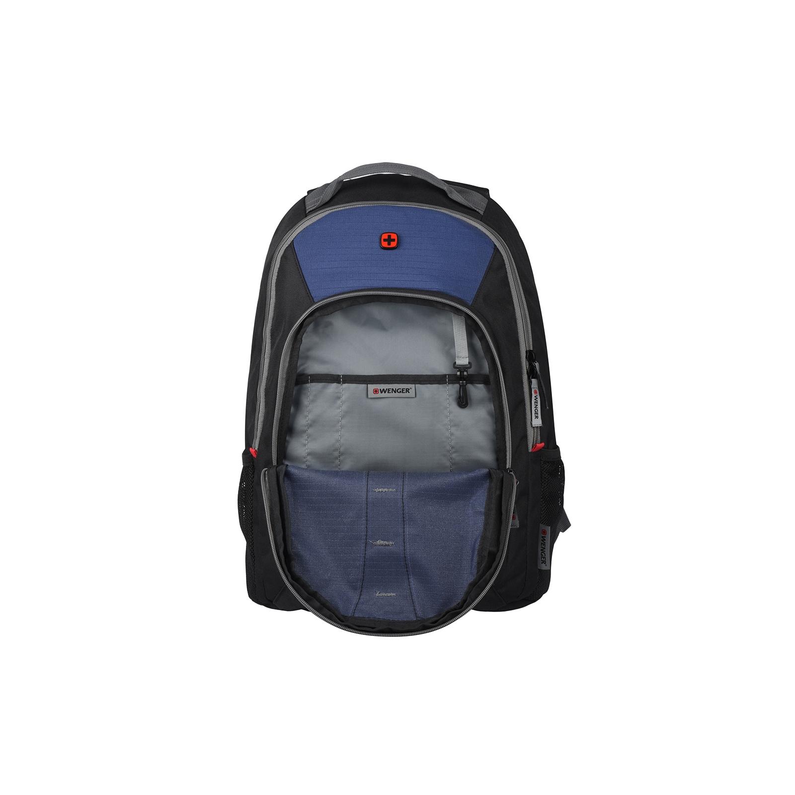 """Рюкзак для ноутбука Wenger 16"""" Mars Black/Blue (604428) изображение 7"""