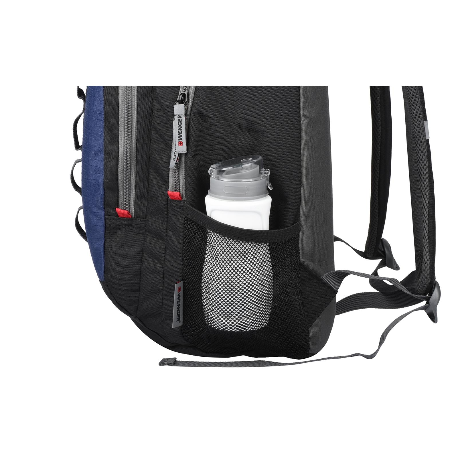 """Рюкзак для ноутбука Wenger 16"""" Mars Black/Blue (604428) изображение 9"""