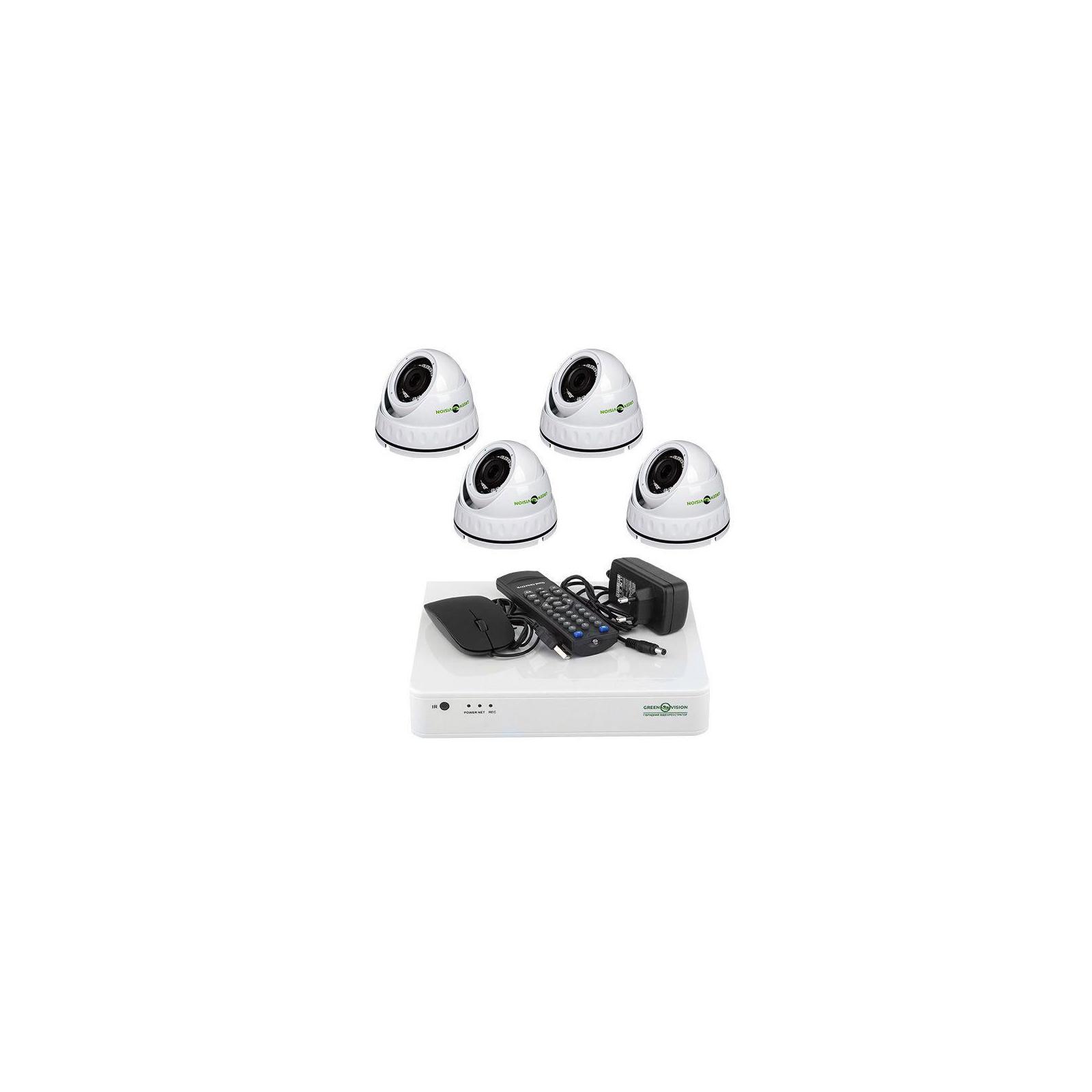 Комплект видеонаблюдения Greenvision GV-K-S16/04 1080P (6659)