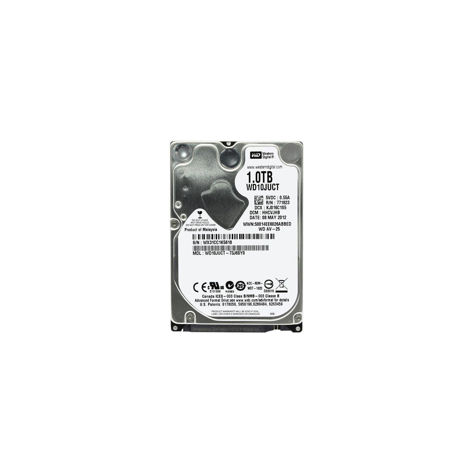 "Жесткий диск для ноутбука 2.5"" 1TB WD (#WD10JUCT-FR#)"