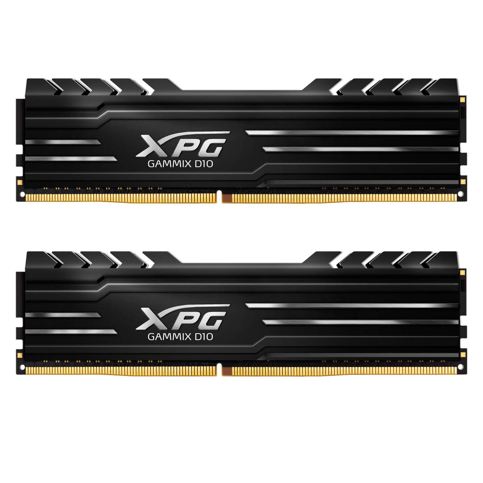 Модуль памяти для компьютера DDR4 8GB (2x4GB) 2666 MHz XPG Gammix D10 Black ADATA (AX4U2666W4G16-DBG)