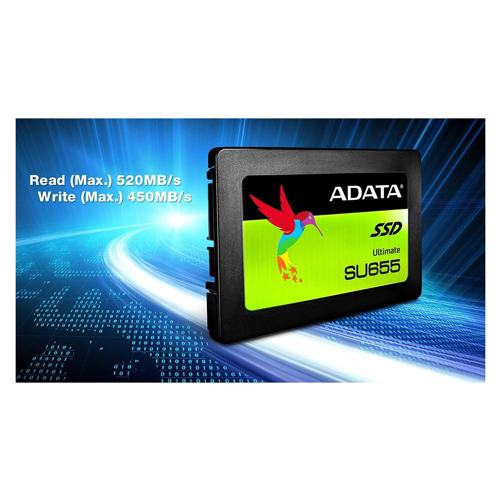 """Накопитель SSD 2.5"""" 240GB ADATA (ASU655SS-240GT-C) изображение 8"""