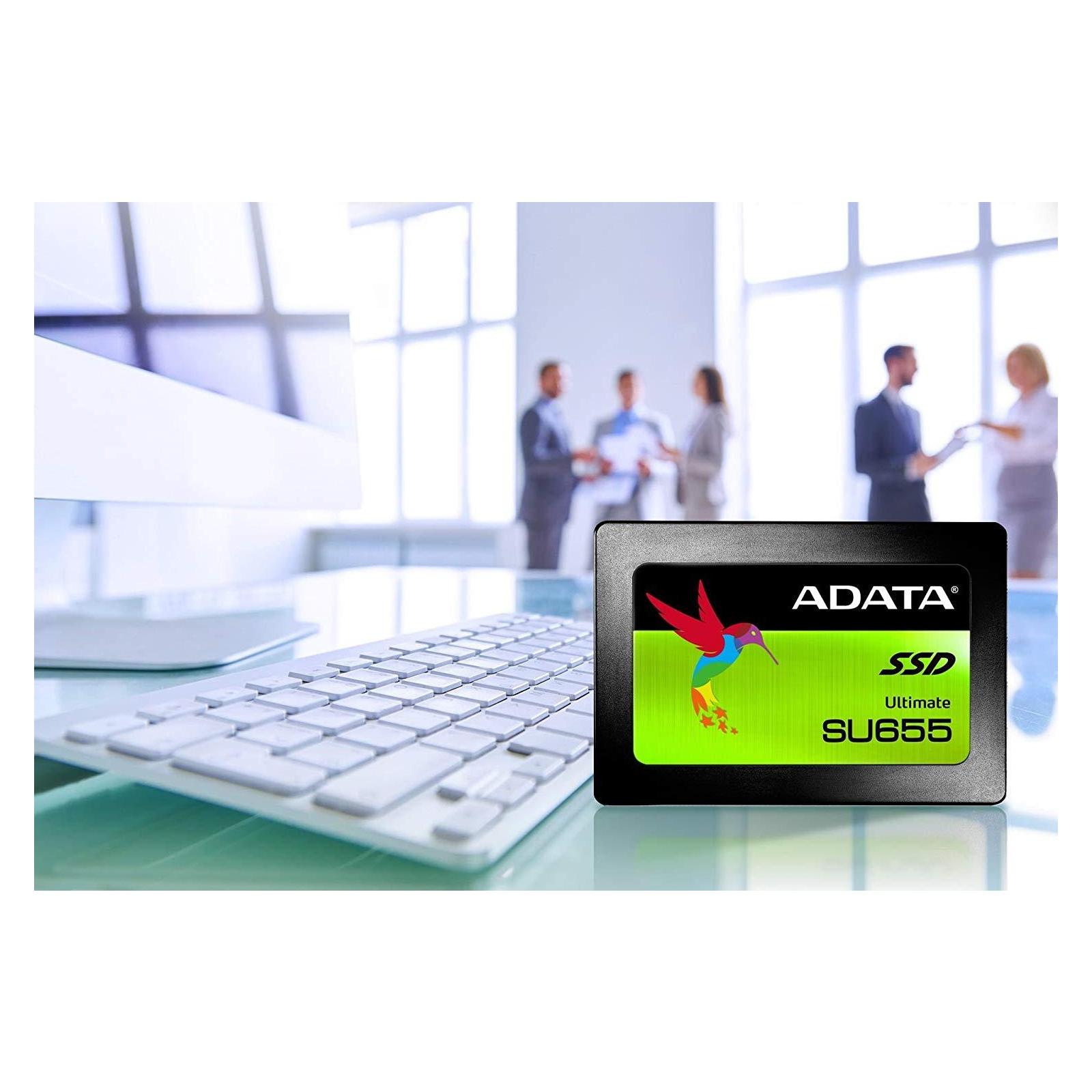 """Накопитель SSD 2.5"""" 240GB ADATA (ASU655SS-240GT-C) изображение 9"""