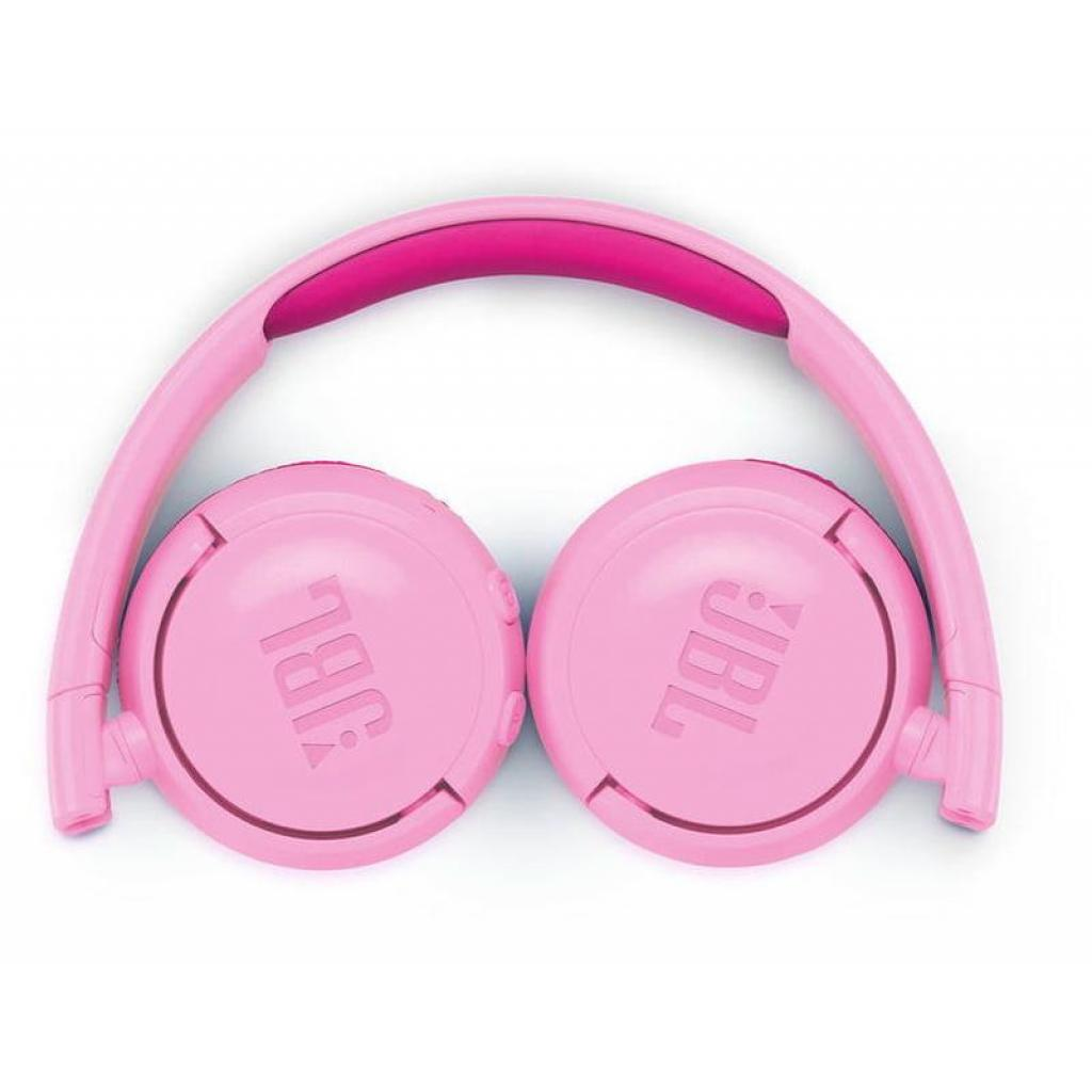Наушники JBL Junior JR300BT Pink (JR300BTPIK) изображение 3