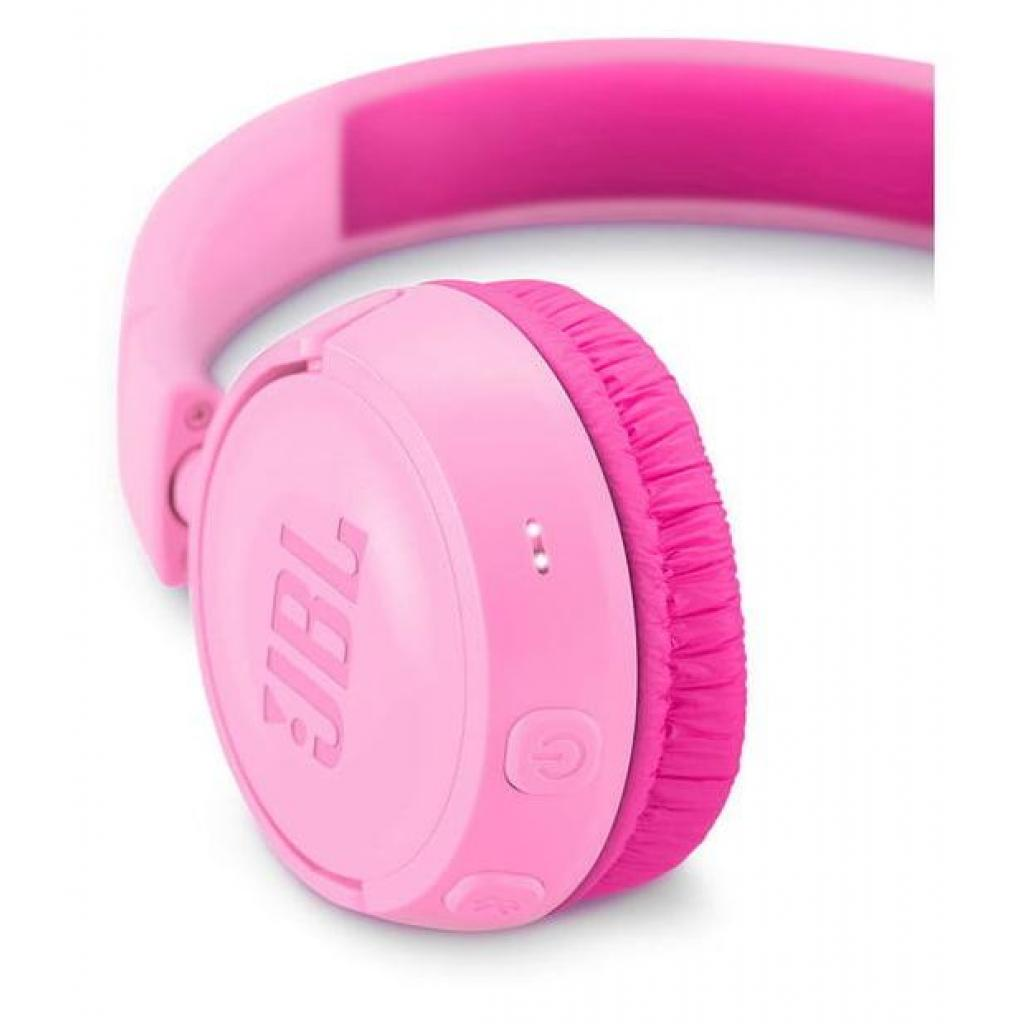 Наушники JBL Junior JR300BT Pink (JR300BTPIK) изображение 5