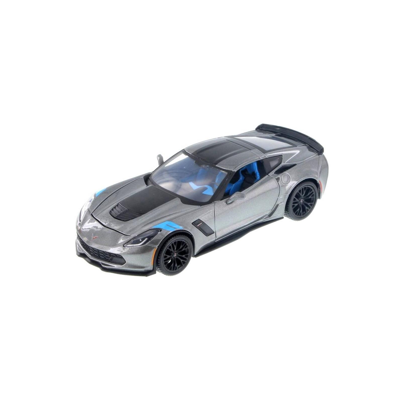 Машина Maisto Corvette Grand Sport 2017 (1:24) серый металлик (31516 met. grey)