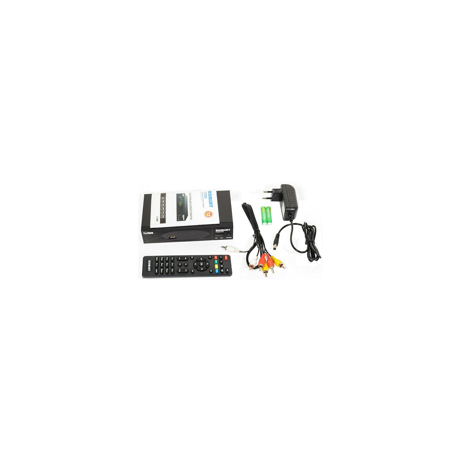 ТВ тюнер Romsat DVB-T2, чипсет MSD7T01 (T8020HD) зображення 9