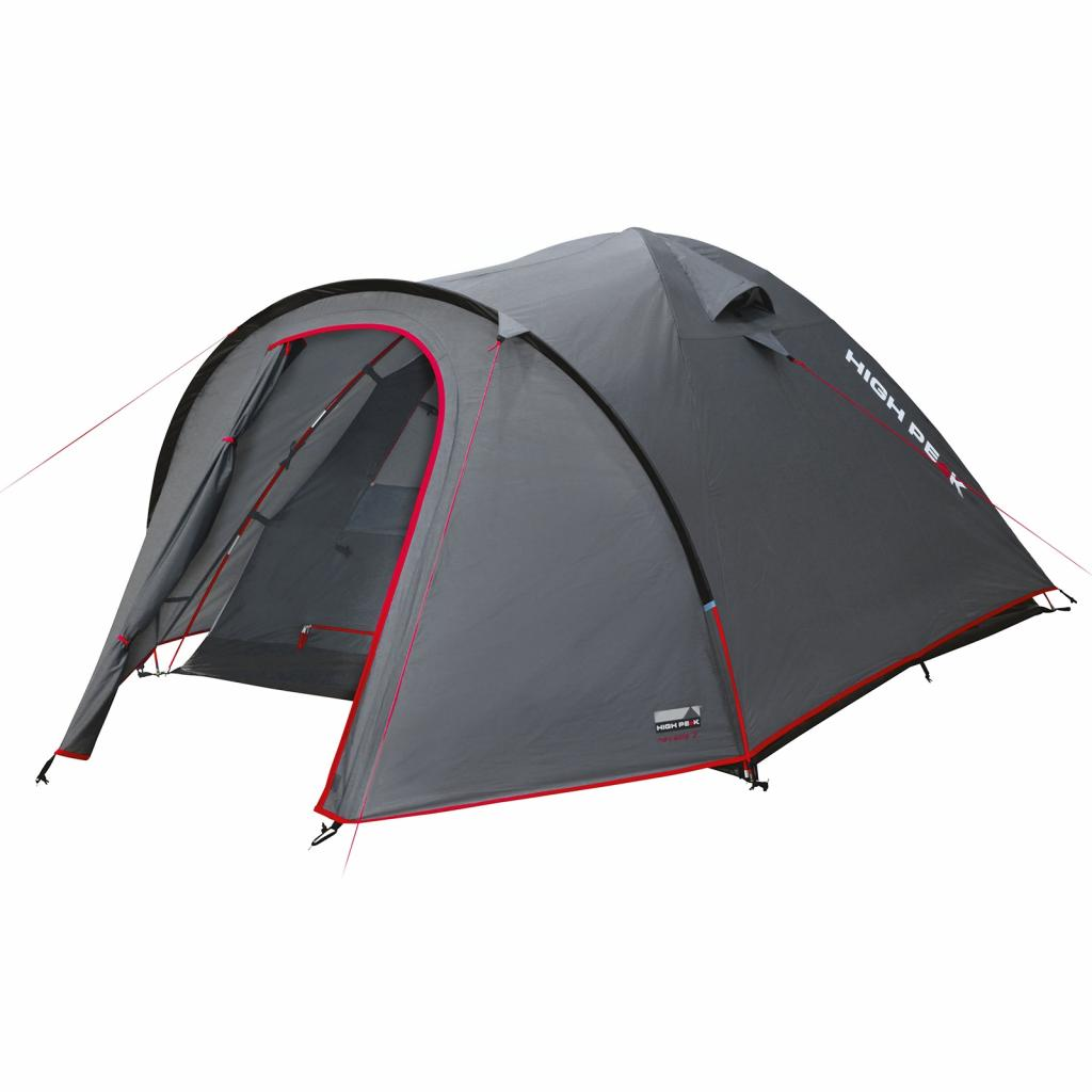Палатка High Peak Nevada 4 Dark Grey/Red (926274)