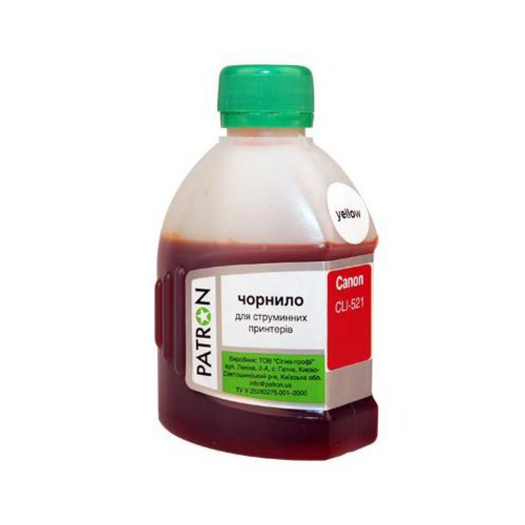 Чернила PATRON CANON CL-511/513/ CLI-521 YELLOW (I-PN-CCLI521-180-Y)