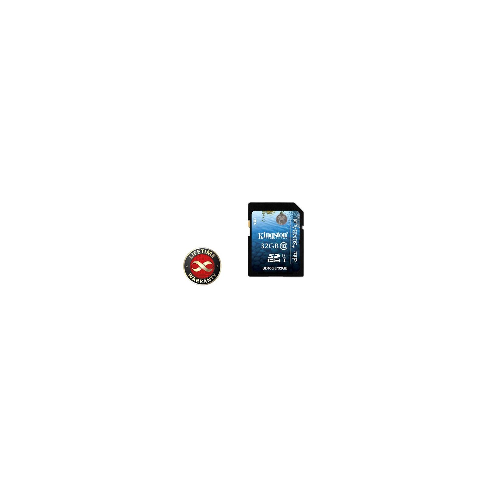 Карта памяти 32Gb SDHC class 10 Generation 2 (10 Kingston (SD10G2/32GB)