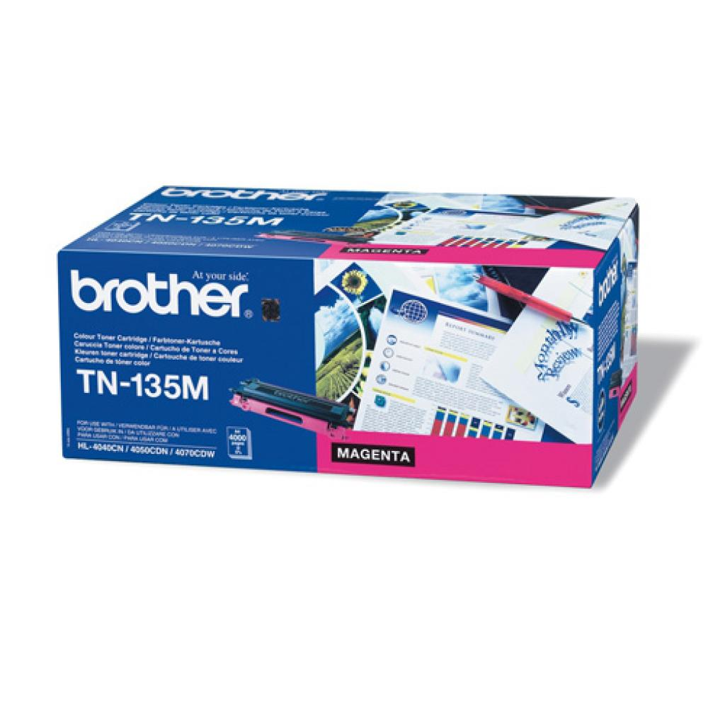 Картридж Brother для HL-40xxC, MFC9440,DCP9040 magent (TN135M)
