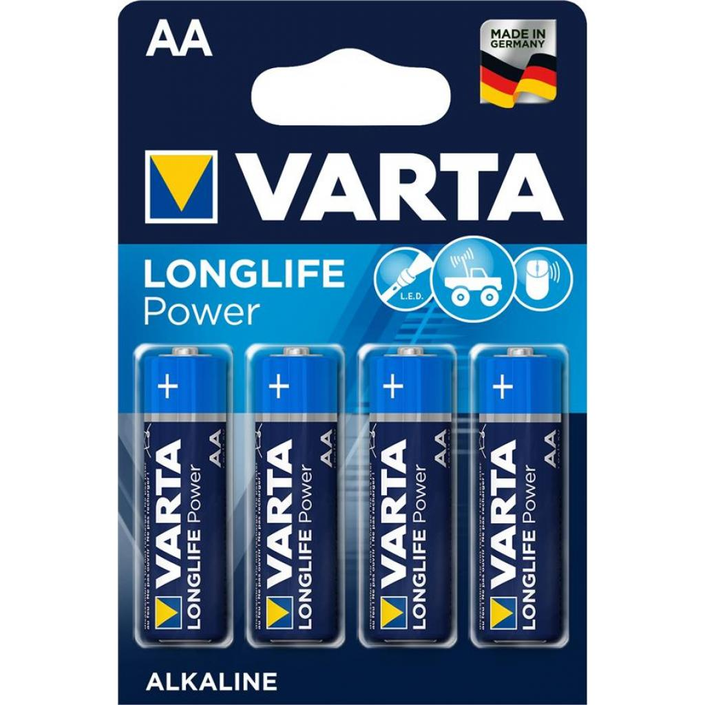 Батарейка Varta AA Varta High Energy * 4 (04906121414)