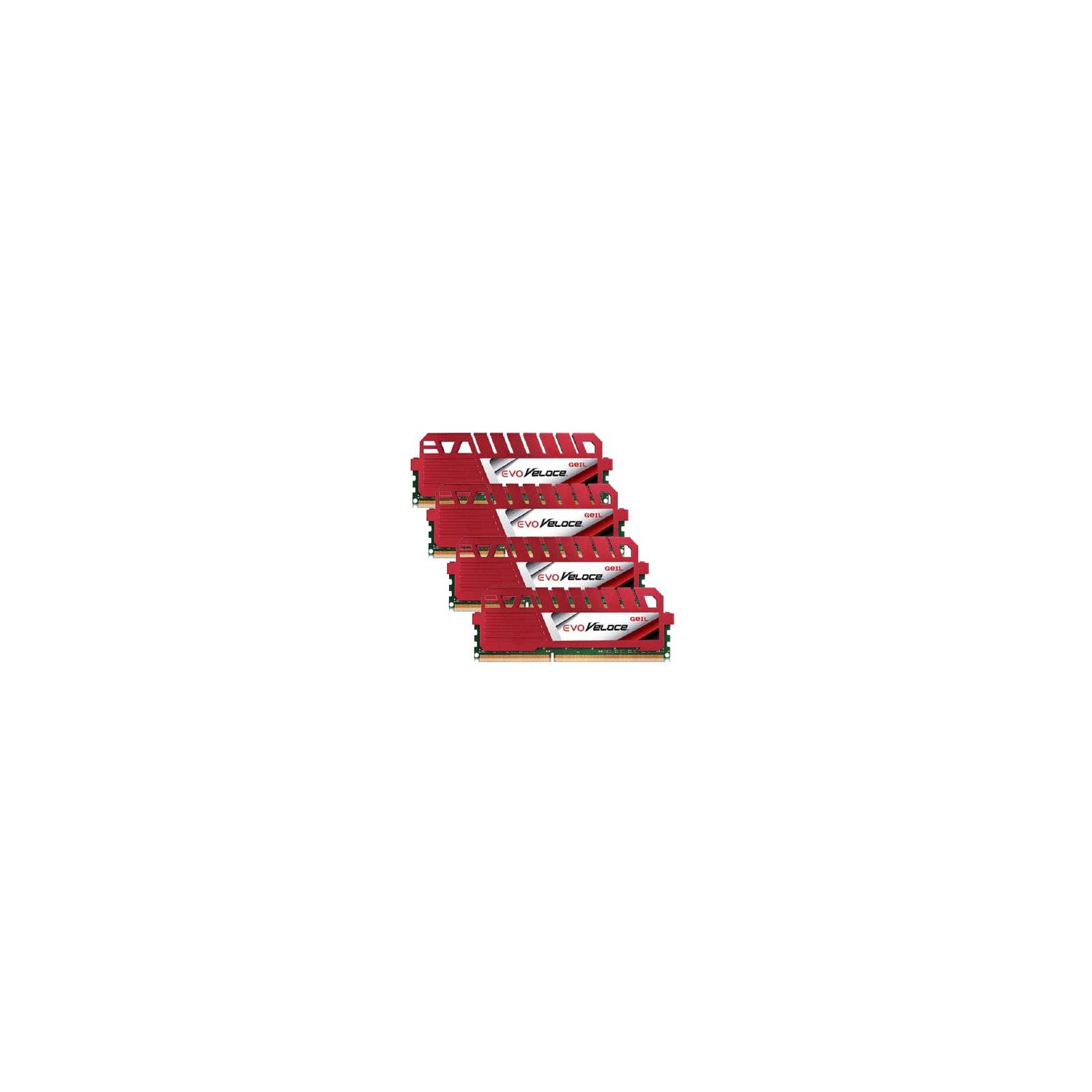 Модуль памяти для компьютера DDR3 16GB (4x4GB) 2400 MHz GEIL (GEV316GB2400C11AQC)