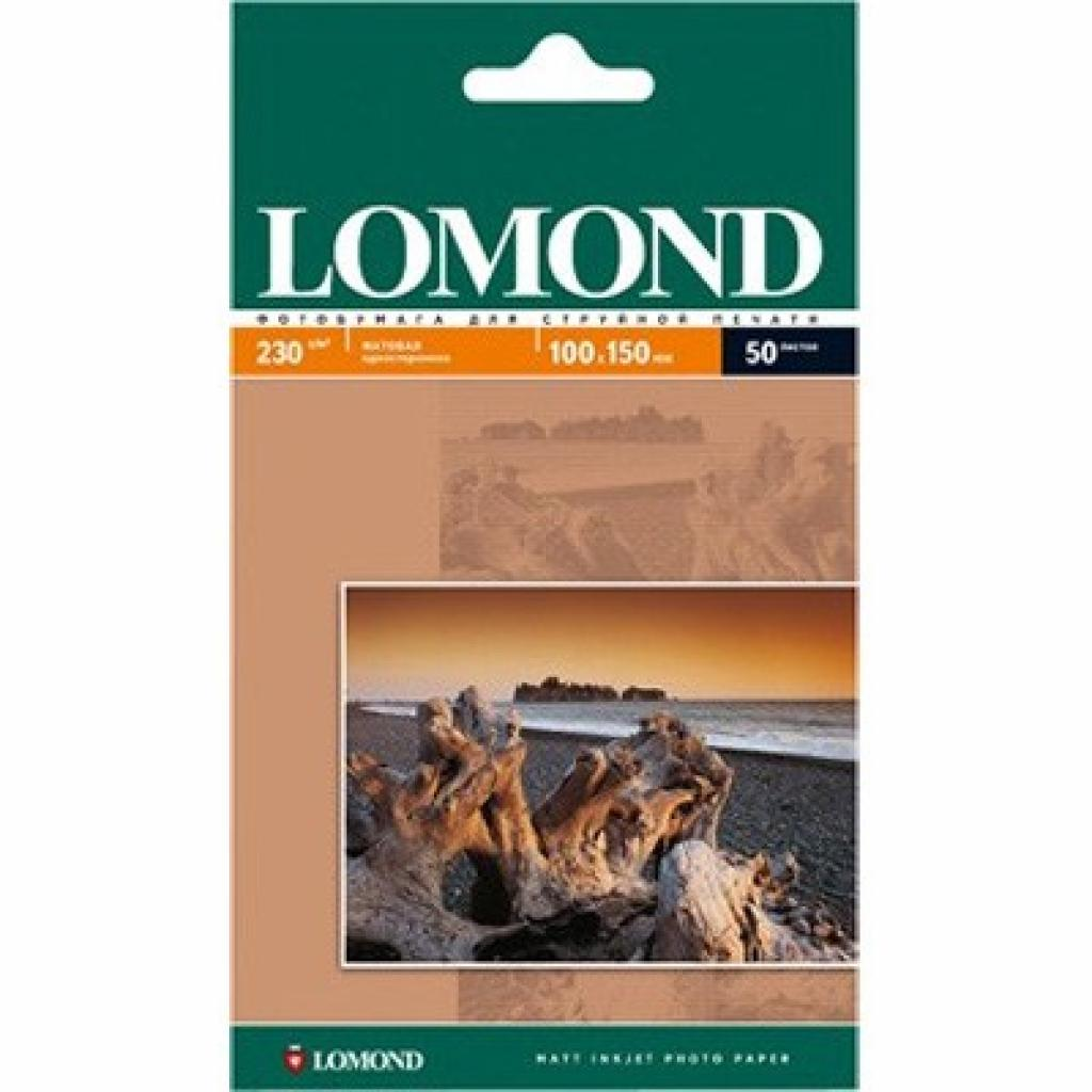 Бумага Lomond 10х15 Photo Paper Matt 230 (102034)