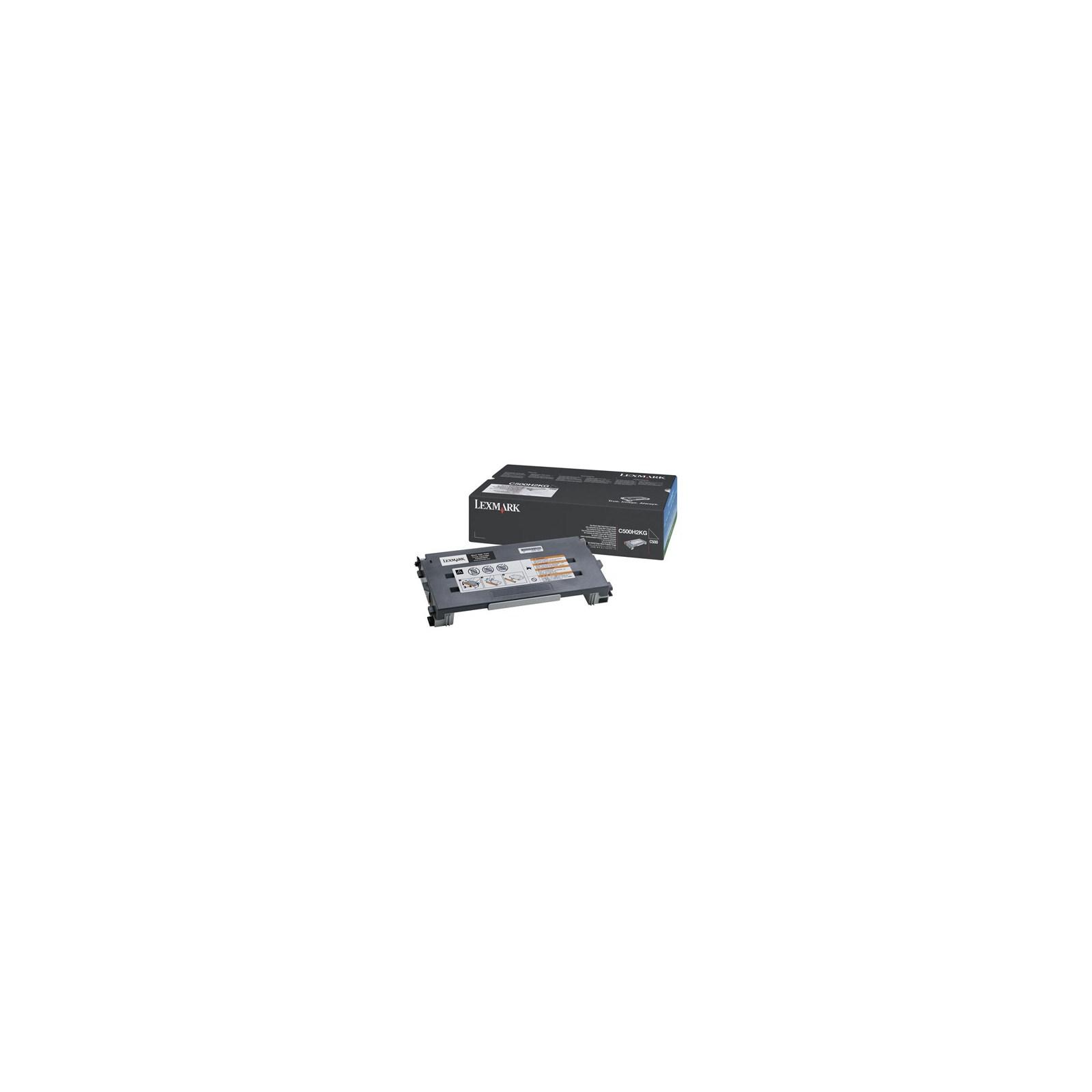 Картридж LEXMARK C500n/X500n/X502n Black 5k (C500H2KG)
