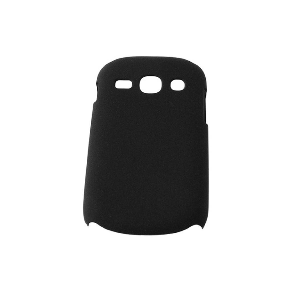 Чехол для моб. телефона Drobak для Samsung S6810 Galaxy Fame /Shaggy Hard/Black (218958) изображение 2