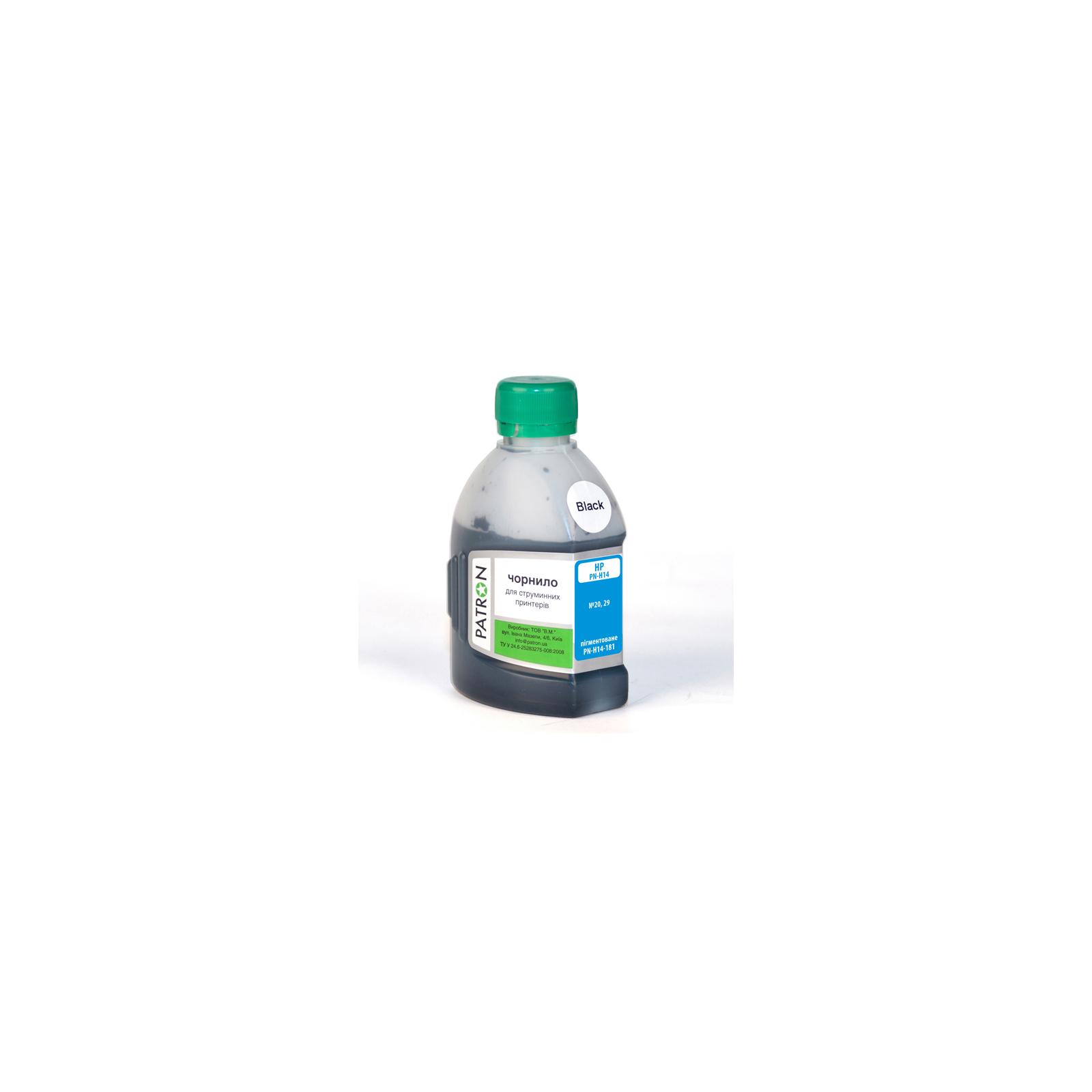 Чернила PATRON HP №20/29 BLACKpigment/180 г (I-PN-H14-180-B-P)