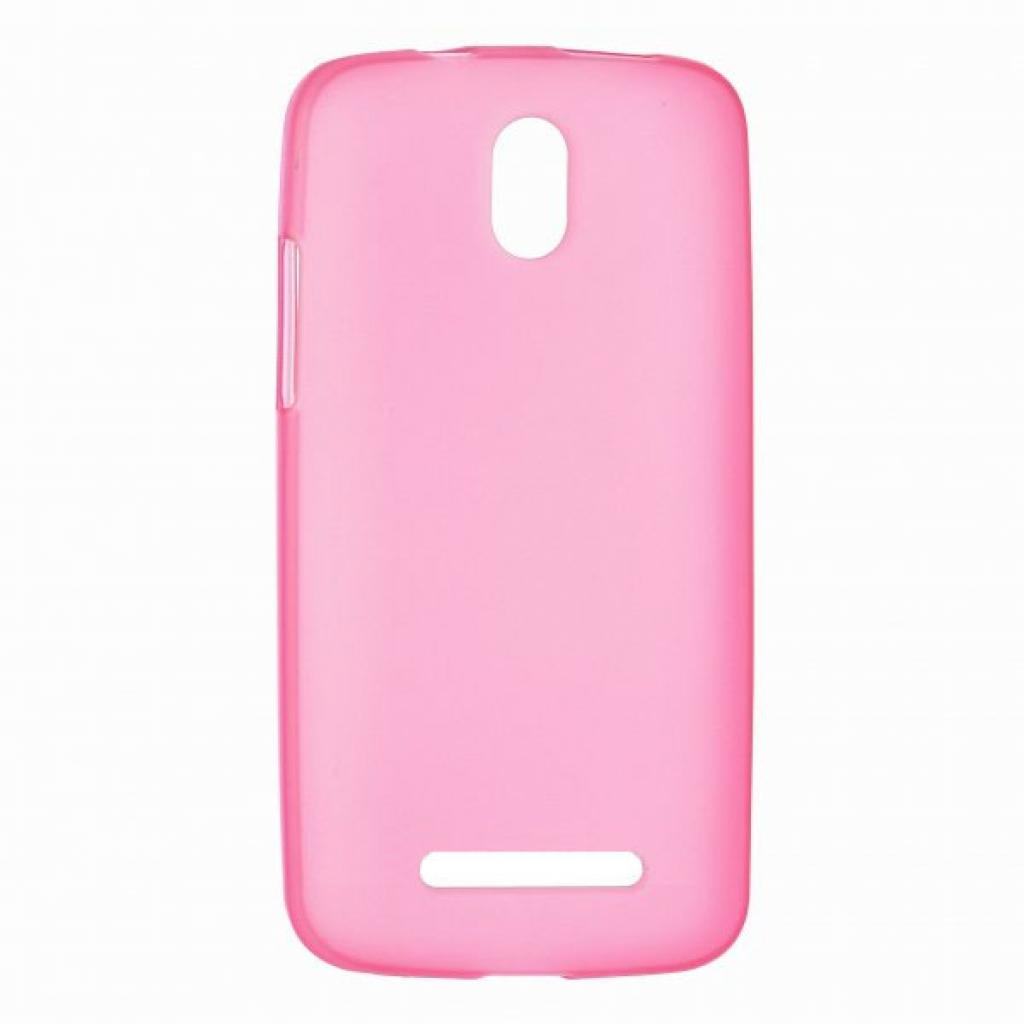 Чехол для моб. телефона Mobiking Nokia 206 Asha Pink/Silicon (23752)