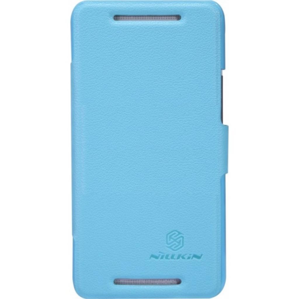 Чехол для моб. телефона NILLKIN для HTC Desire 501 /Fresh/ Leather/Blue (6129098)