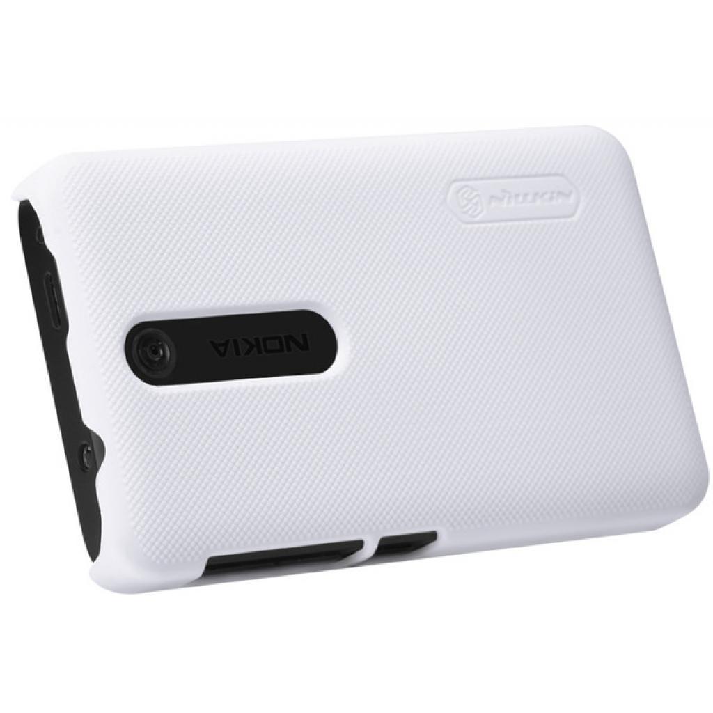 Чехол для моб. телефона NILLKIN для Nokia 501 /Super Frosted Shield/White (6077017) изображение 2