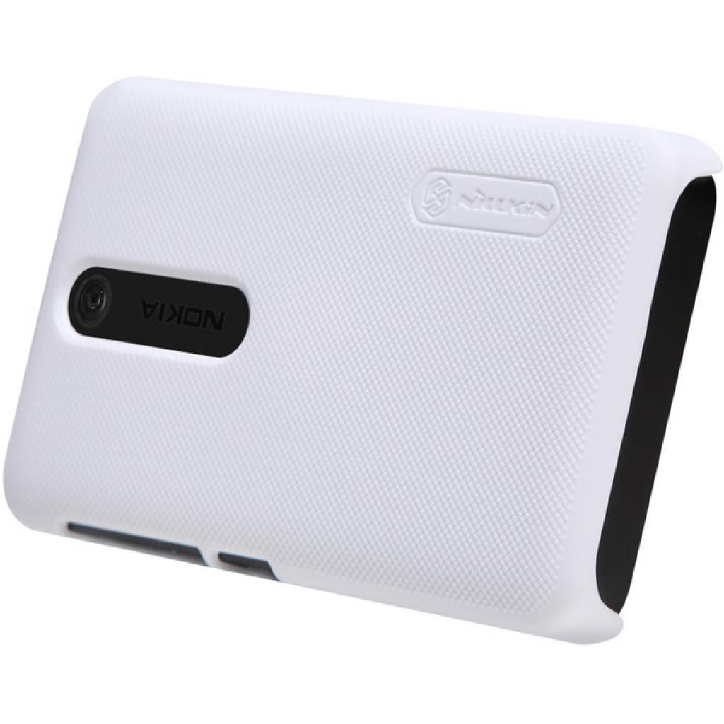 Чехол для моб. телефона NILLKIN для Nokia 501 /Super Frosted Shield/White (6077017) изображение 3
